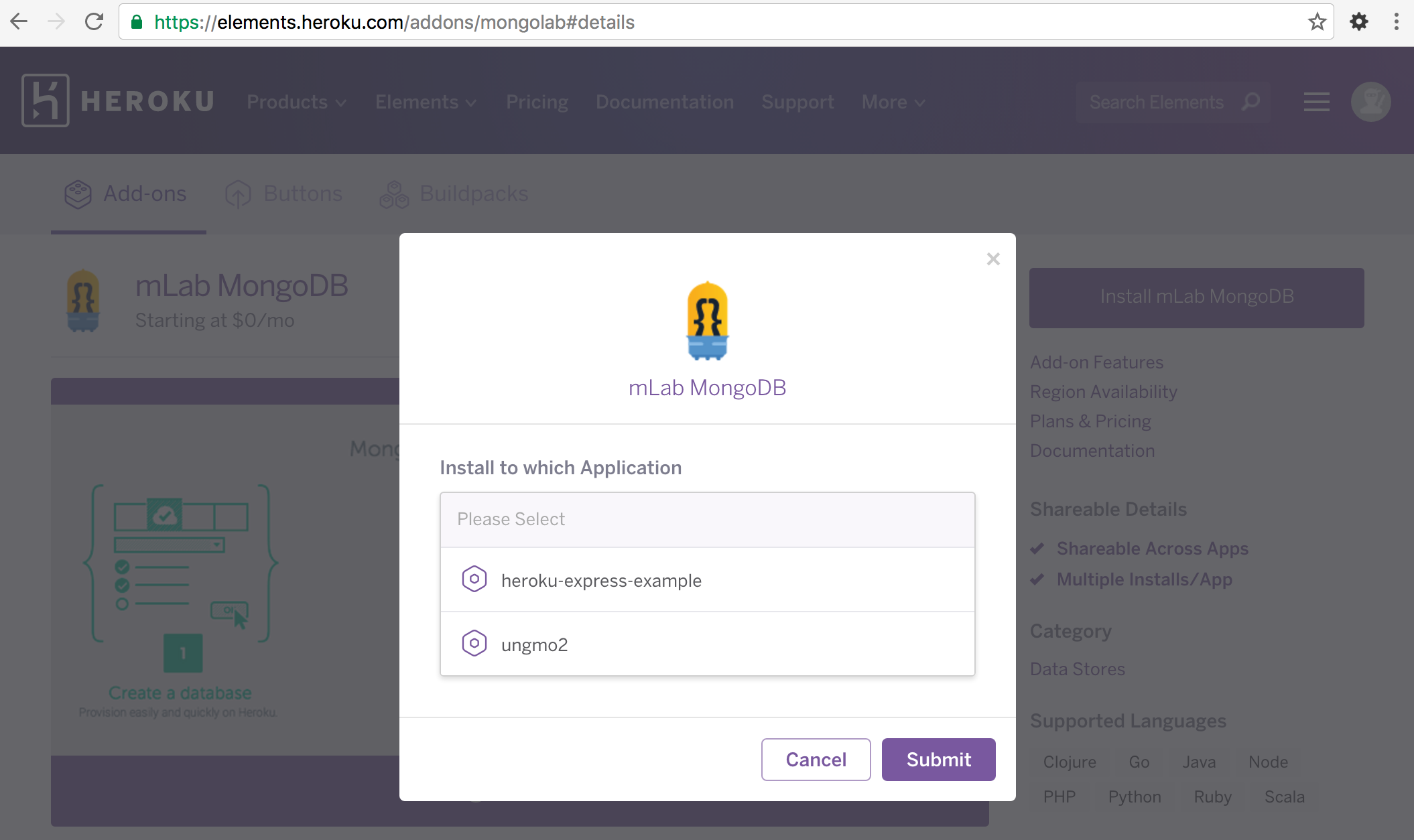 Deploying Node js(Express) & MongoDB to Heroku | PoiemaWeb